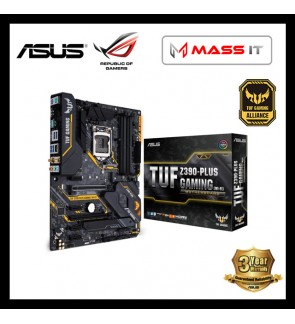 ASUS TUF Z390-PLUS GAMING (WI-FI) LGA1151 Gaming Motherboard