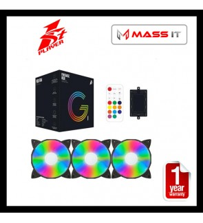 1st Player Firebase G1 RGB Fan (3 Fan+Controller+Remote)