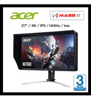 "ACER Nitro XV273K 27"" IPS 4K UHD FreeSync 144hz 4K Gaming Monitor"