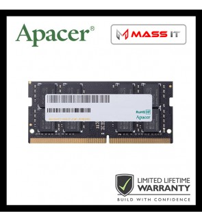 APACER Sodimm 4GB DDR4 2666MHz Laptop RAM Notebook RAM