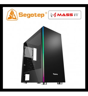 SEGOTEP MEX ATX Gaming Case with front RGB Strip