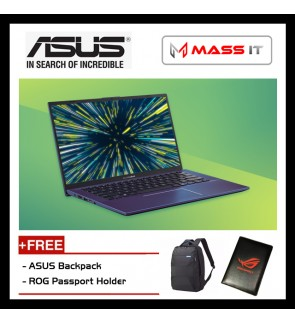 "ASUS A412F-LEB094T VivoBook Peacock Blue (i5-8265U/MX250 2GD5/4GB D4/512GB PCIe NVMe M.2 SSD/14.0"" FHD/WIN10/2 Years Warranty)"